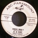 B.B. KING~Guess Who?~ABC-Paramount 10390 1st Promo 45