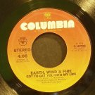 EARTH, WIND & FIRE~Got to Get You Into My Life~Columbia 10796 (Funk) VG+ 45