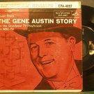 GENE AUSTIN~Music From the Gene Austin Story~RCA Victor 4057 (OST) Rare VG++ 45 EP