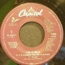 THE GYRLZ~If it's Games You're Playing~Capitol 44211 (Soul) Rare M- 45