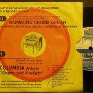 HAL SHUTZ~The Hammond Chord Organ~Hammond 8923 (OST) VG+ 45