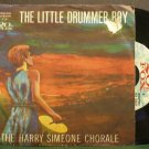 HARRY SIMEONE CHORALE~Little Drummer Boy~20th Fox 121 (Christmas) VG+ 45