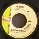 JACKIE DESHANNON~The Weight~IMPERIAL 66313 Promo Rare VG+ HEAR 45