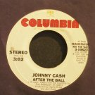 JOHNNY CASH~After The Ball ~Columbia 10623 Promo VG++ 45