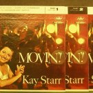 KAY STARR~Movin', Parts 1-3~Capitol 1254 (Jazz Vocals) Rare VG++ 45 EP, 3 X 7""