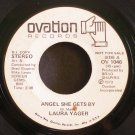 LAURA YAGER~Angel She Gets by~Ovation 1046 Promo Rare 45