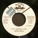 PERRY WHITE~Lady Down on Love~Raven-Mad 053180 Promo Rare VG++ 45