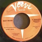 RICKY NELSON~I'm Walking~Verve 10047 (Rock & Roll) Rare 45