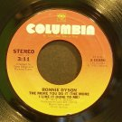 RONNIE DYSON~The More You Do it~Columbia 10356 (Funk) VG+ 45