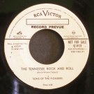 SONS OF  PIONEERS~The Three of Us~RCA Victor 6123 (Rockabilly) Promo Rare VG+ 45