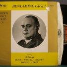 BENIAMINO GIGLI~Beniamino Gigli~HMV 1075 Mono M- England LP