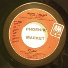 FALCO~Vienna Calling (The New '86 Edit~A&M 2832 (Synth-Pop) VG+ 45