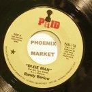RANDY BARLOW~Dixie Man~Paid 116  45