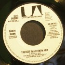 BARRY MANN~The Best That I Know How~United Artists UA-XW1021 (General Rock) Promo 45