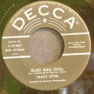 CRAZY OTTO~Glad Rag Doll~Decca 29403 (Piano) VG+ 45