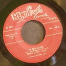 ERNIE FIELDS ORCHESTRA~In the Mood~Rendezvous 110 (Funk)  45