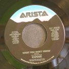 EXPOSE~What You Don't Know~Arista 9836 (Free Style) VG+ 45