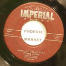 FATS DOMINO~When My Dreamboat Comes Home~IMPERIAL X5396 (Rock & Roll)  45
