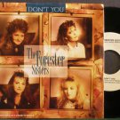 FORESTER SISTERS~Don't You~Warner Bros. 22943 VG+ 45