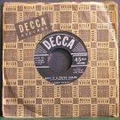 JANE TURZY~Ain't it a Cryin' Shame~Decca 28436 VG++ 45