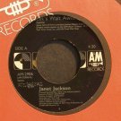 JANET JACKSON~Let's Wait Awhile~A&M 2906 (Synth-Pop)  45