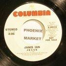 JANIS IAN~Jesse~Columbia 46034 Promo 45