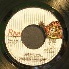 JOHN COUGAR MELLENCAMP~Authority Song~Riva 216 (Southern Rock) VG+ 45