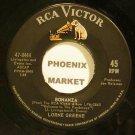 LORNE GREEN~Bonanza~RCA Victor 8444 VG+ 45
