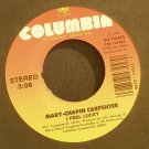 MARY-CHAPIN CARPENTER~I Feel Lucky~Columbia 74345 VG++ 45