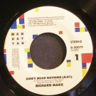 RICHARD MARX~Don't Mean Nothing~EMI-Manhattan 50079 (Soft Rock) VG+ 45