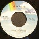 TIFFANY~Radio Romance~MCA 53623 (Synth-Pop) VG+ 45