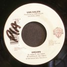 VAN HALEN~Dreams~Warner Bros. 18592 (Hard Rock)  45