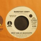 BAREFOOT JERRY~West Side of Mississippi~Monument 8664 (Southern Rock)  45