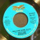 BILLY JOE BURNETTE~Welcome Home, Elvis~Starday 167 (Rock & Roll) VG+ 45