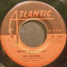 THE DRIFTERS~White Christmas~Atlantic 1048 (Christmas)  45