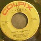 JAMES DARREN~Goodbye Cruel World~Colpix 609 (Rock & Roll)  45
