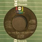 JIM CROCE~I'll Have To Say I Love You in a Song~ABC 11424  45