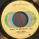 GALLERY~Nice to Be with You~Sussex 232 (Soft Rock)  45