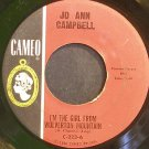 JO ANN CAMPBELL~I'm the Girl From Wolverton Mountain~Cameo 223 (Rockabilly)  45
