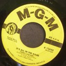 TOMMY EDWARDS~It's All in the Game~MGM 12688  45