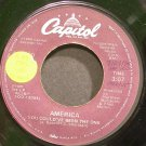 AMERICA~You Could've Been the One~Capitol 4915 (Soft Rock) VG+ 45