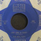 BOX TOPS~Cry Like a Baby (Solid Blue Label)~Mala 593 (Soft Rock)  45