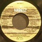 TOM CLAY~What the World Needs Now is Love~Mowest 5002 F  45