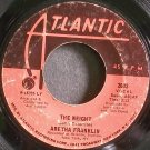 ARETHA FRANKLIN~The Weight~Atlantic 2603 (Soul)  45