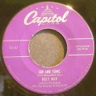BILLY MAY & HIS ORCHESTRA~Gin and Tonic~Capitol F2157 (Big Band Swing)  45