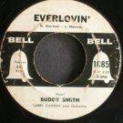 BUDDY SMITH & ELLIE RUSSELL~Everlovin'~Bell 1085 (Rockabilly)  45