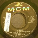 THE COWSILLS~The Rain, the Park & Other Things~MGM 13810 (Soft Rock)  45