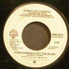 EMMYLOU HARRIS~Even Cowgirls Get the Blues~Warner Bros. 8815 VG+ 45
