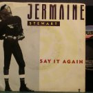 JERMAINE STEWART~Say it Again~Arista 9636 (Synth-Pop) VG++ 45