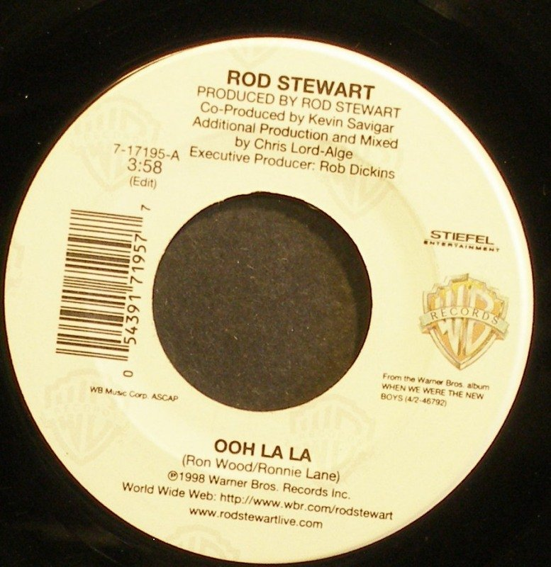 ROD STEWART~Ooh La La~Warner Bros. 17195  45